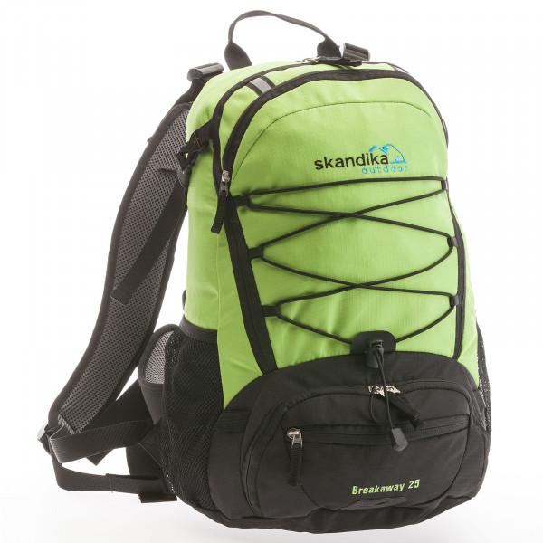 Rucksack SKANDIKA Breakaway 25 (grün/schwarz)