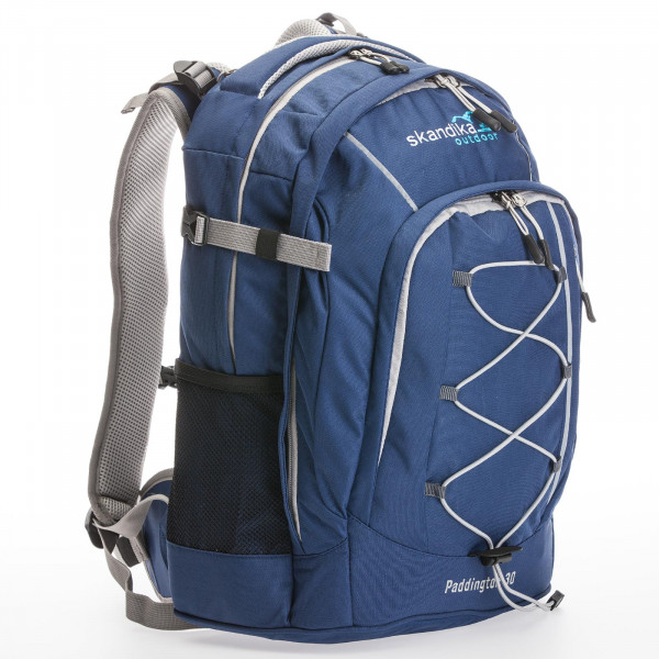 Rucksack SKANDIKA Paddington 30 (blau/grau)