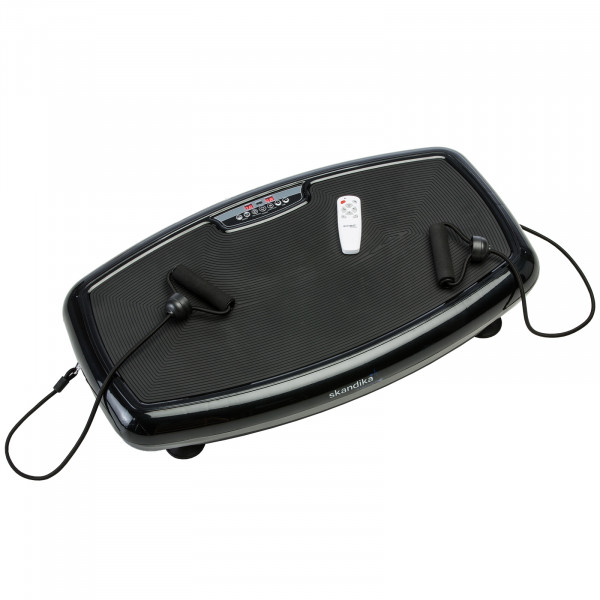 Vibrationsplatte skandika Vibration Plate 600 Vibrationsgerät Fitness schw