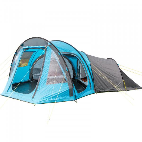 Tunnelzelt SKANDIKA Drøbak 6 personen Urlaub Camping zelt - 4000 mm WS, eingenähter Zeltboden