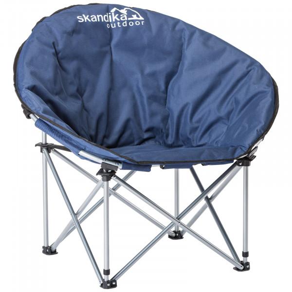 SKANDIKA Pluto Campingstuhl / Moonchair (blau)
