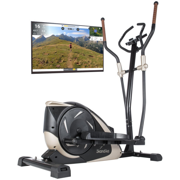 Crosstrainer Adrett mit Video Streaming Funktion
