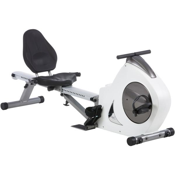 Rudergerät Liege-Ergometer SKANDIKA Aquarius 3-in-1 Rudermaschine,Fahrradtrainer & Fitness