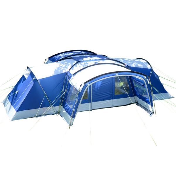Skandika Tunnelzelt Nimbus 12 Personen (blau)