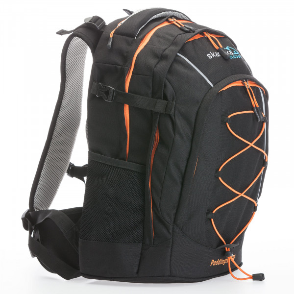Rucksack SKANDIKA Paddington 30 (schwarz/orange)