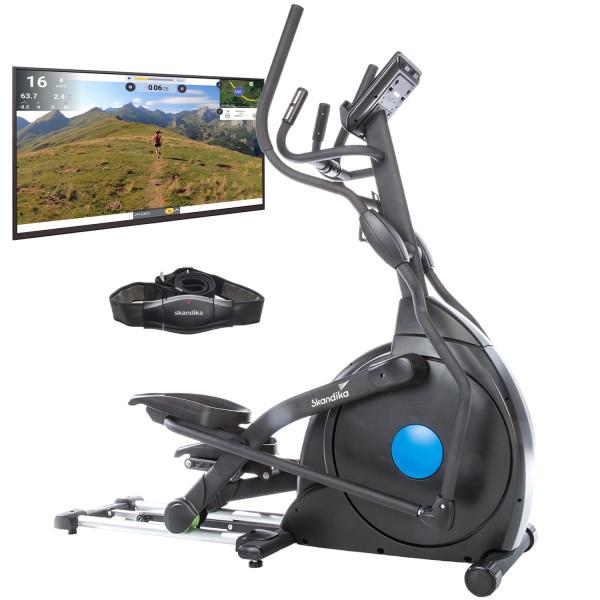 Crosstrainer Carbon Champ mit Video Streaming und Multiplayer App