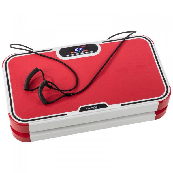 Vibrationsplatte Home Vibrations Plate 900 plus Vibrationstraining Fitness (rot)