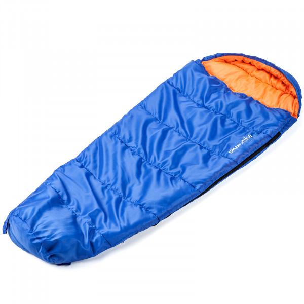 Kinder-Schlafsack SKANDIKA Vegas Junior (blau/ora)