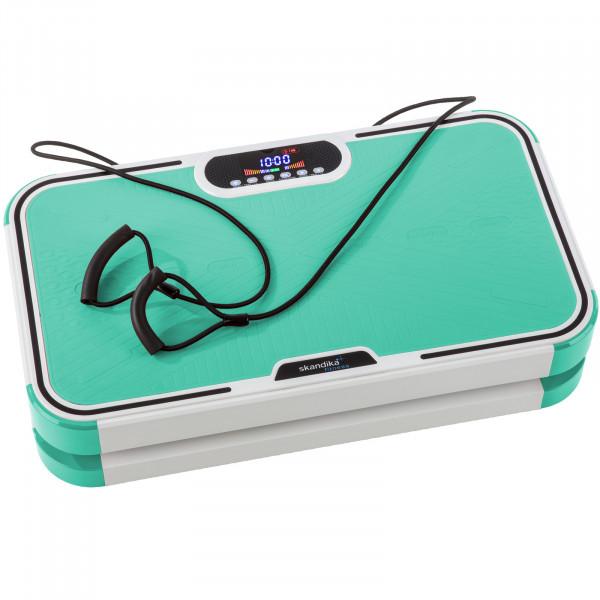 Vibrationsplatte Home Vibrations Plate 900 plus Vibrationstraining Fitness (grün)
