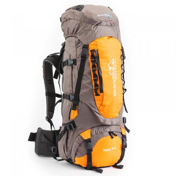 Rucksack SKANDIKA Bogong 65+10 (grau/orange)