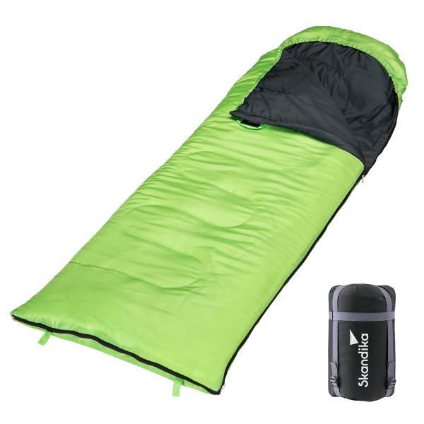 Schlafsack SKANDIKA Skye grün (rechts)