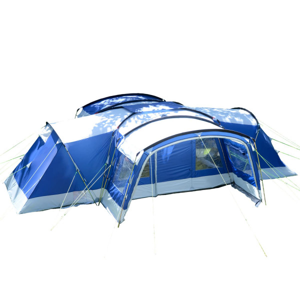 Familienzelt SKANDIKA Nimbus 12 Sleeper (blau)