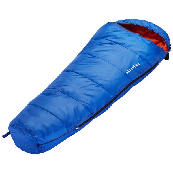 Kinder-Schlafsack Skandika Vegas Junior, 170 x 70 cm, + 13 bis -12 °C, Mikrofaser, Blau