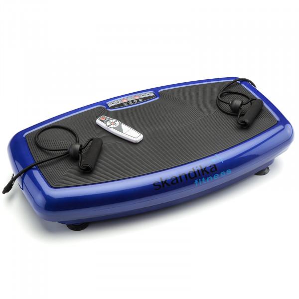 Vibrationsplatte skandika Vibration Plate 600 Vibrationsgerät Fitness blau