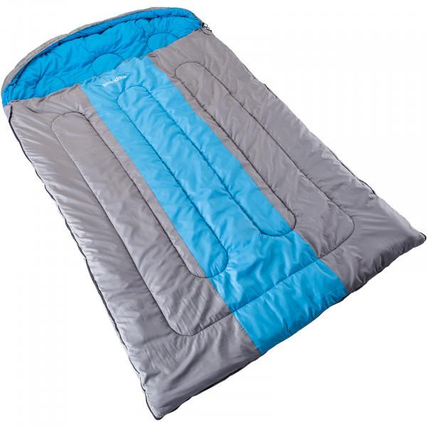 Decken-Schlafsack SKANDIKA Orkney (blau/silber)
