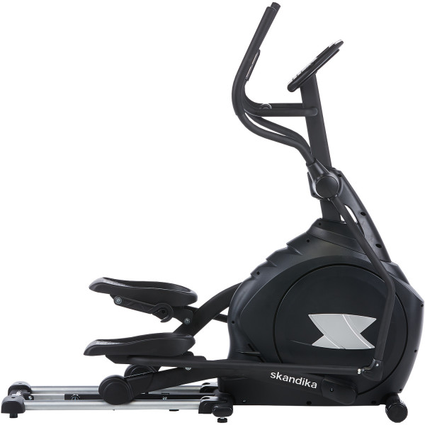 Crosstrainer skandika CardioCross Carbon Pro Ellipsentrainer Elliptical Machine (schwarz)