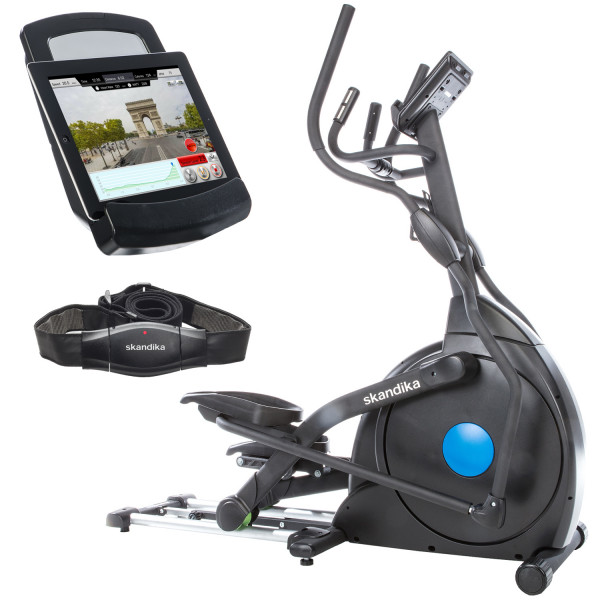 Crosstrainer SKANDIKA CardioCross Carbon Champ Elliptical Machine Ellipsentrainer