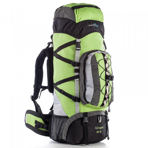 Rucksack SKANDIKA Cairngorm 65+10 (grün/schwarz)
