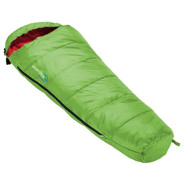 Kinder-Schlafsack Skandika Vegas Junior, 170 x 70 cm, + 13 bis -12 °C, Mikrofaser, Grün