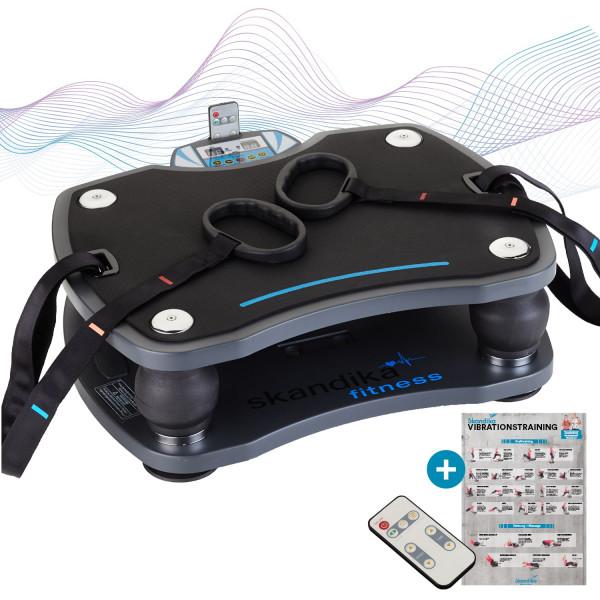 Vibrationsplatte 500 mit 3D Vibrations Technologie, Schwarz