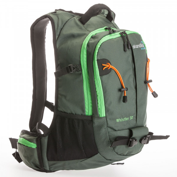 Rucksack SKANDIKA Whistler 32 (grün/orange)