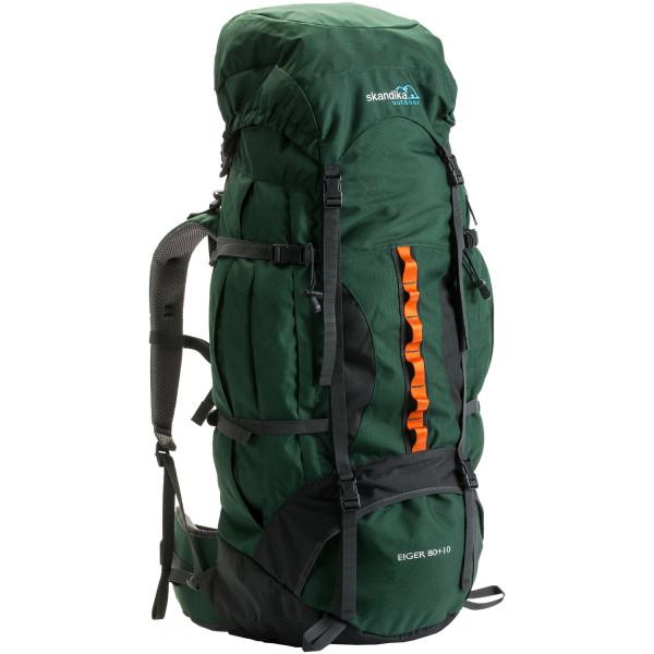Trekking-Rucksack SKANDIKA Eiger 80+10 (grün)
