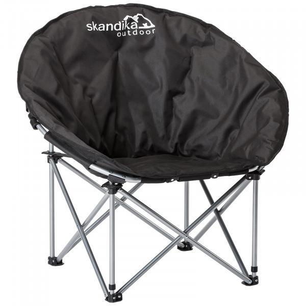 SKANDIKA Pluto Campingstuhl / Moonchair (schwarz)