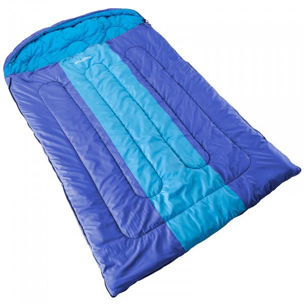 Decken-Schlafsack SKANDIKA Orkney (blau/hellblau)