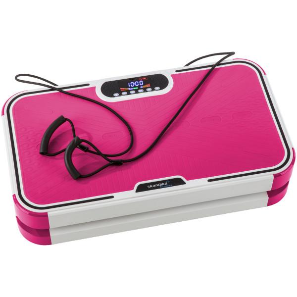 Vibrationsplatte SKANDIKA Vibration Plate 800 pink