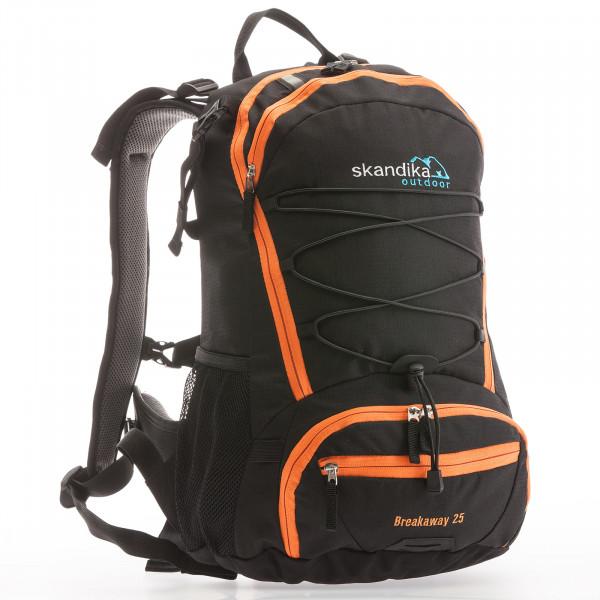 Rucksack SKANDIKA Breakaway 25 (schwarz/orange)